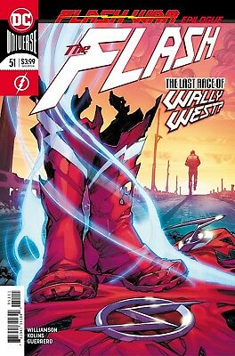 The Flash #51 - Dc Universe - 1St Print - Bagged & Boarded. Free Uk P+P