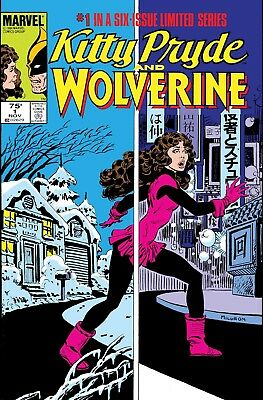 True Believers: Kitty Pryde And Wolverine #1 - Bagged And Boarded. Free Uk P+P