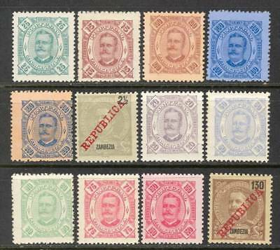 PORTUGAL COLONY  ZAMBEZIA   1898  MNH / MNG as on scans - Very old
