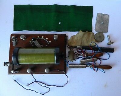 Antique BTH Induction Coil circa 1920 with Attachments