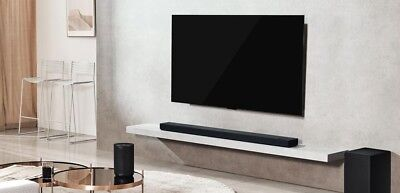 LG SK10Y 5.1.2 ch High Res Audio Sound Bar Meridian Technology, Dolby Atmos A+