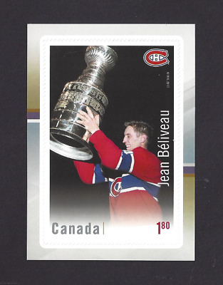 Canada  2017  Canadian Hockey Legend - Jean Beliveau   VF-NH  Post Office New
