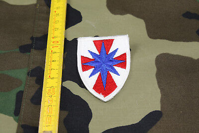 U.S. Shoulder Patch 8th Field Army Support Command Color