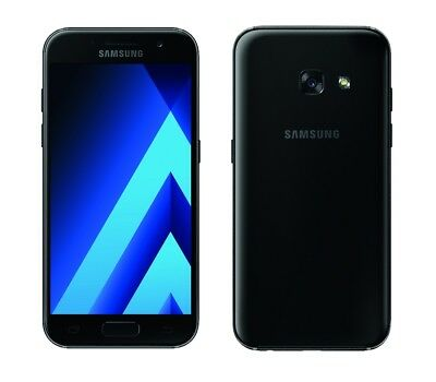 Samsung Galaxy A3 (2017) in Black Handy Dummy Attrappe - Requisit, Deko, Werbung