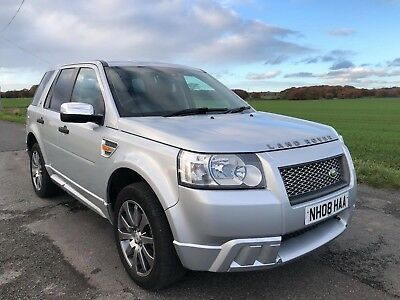 2008 Land Rover Freelander 2 2.2 Td4 S Manual