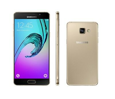 Samsung Galaxy A5 (2016) in Gold Handy Dummy Attrappe - Requisit, Deko, Werbung