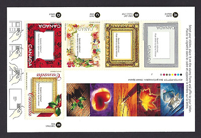 Canada    # 1918   Booklet       PICTURE POSTAGE      2001     Post Office Fresh