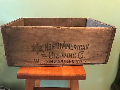North American Brewing Co. Beer Crate