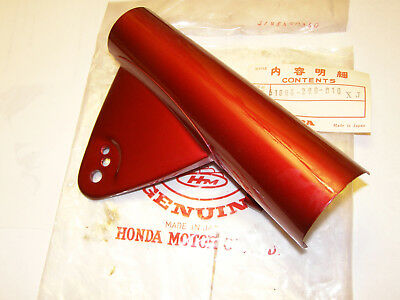 Honda Cl250 Cl350 Nos Left Candy Red Fork Cover Headlight Stay 51606-290-010Xj