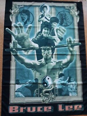 Bruce Lee Flagge / Stoffposter