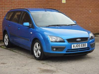 2005 Ford Focus 1.6 TDCi Zetec Climate Estate 5dr Diesel Manual (127 g/km,