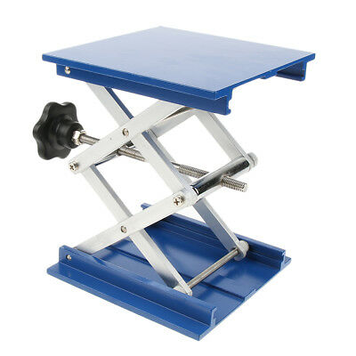 Aluminum Oxide Lab Stand Table Scissor Lift Jack for Lab 6inch