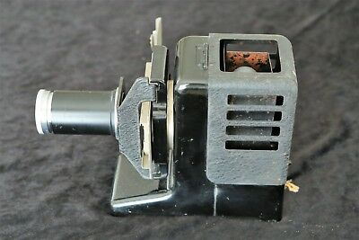 VINTAGE LEITZ 35mm BAKELITE SLIDE PROJECTOR. 85mm f2.5 .  CASED.
