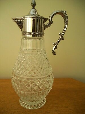 Italy Silver Plated Claret Jug beautiful quality
