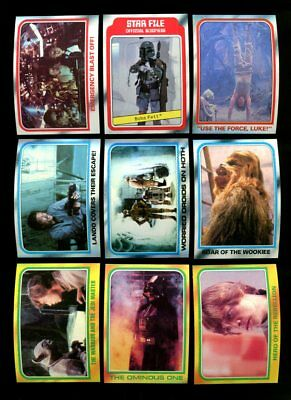 1980 Topps Star Wars The Empire Strikes Back Complete Set 1-352 Mint *94783