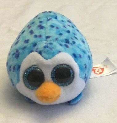 7932757b266 TY Beanie Boos Teeny Tys Stackable Plush GUS the Penguin 4 inch No Hang Tag
