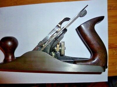 STANLEY BAILEY No. 4 SMOOTHING PLANE REGROUND (SHARP) MADE IN ENGLAND
