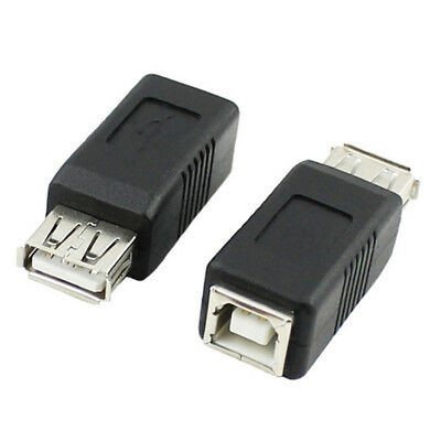 USB Type A to Printer Scanner Type B Adapter Adaptor Converter Male Female YL