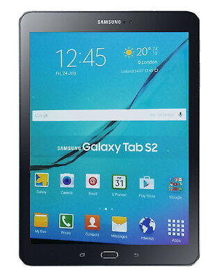 Samsung Galaxy Tab S2 9.7 Black Tablet Dummy Attrappe - Requisit, Deko, Werbung
