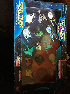 Micro Machines Star Trek Limited Edition Collector's Set Ii Galoob Mint