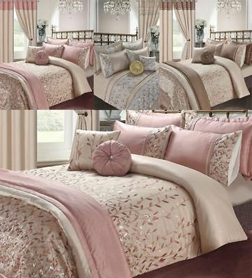 Elena Marie Embroidery Luxury Duvet Cover Set Bedding Sets /Cushions /Bed Throws