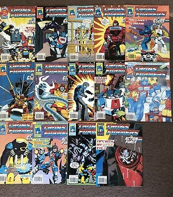 marvel transformers comics uk 14 Issues Bundle No. 246 To 259