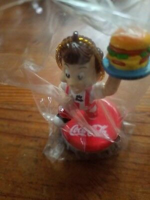 Coca Cola Bottle Cap Frisch's Big Boy Hanging Ornament New in Package Sealed
