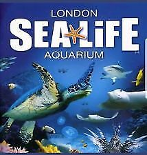4 x Tickets to Sea Life London Aquarium Attraction For Sunday 9 th December 2018