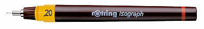 Rotring Isograph Technical Drawing Pen - 0.20mm