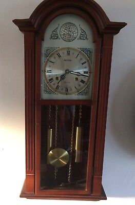 Acctim 31 Day Vintage Wooden Wall Clock.