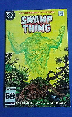 SWAMP THING 37 1ST APPEARANCE JOHN CONSTANTINE/HELLBLAZER KEY ISSUE Allen Moore