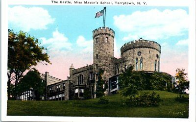 Lot of 2 Tarrytown NY New York Postcards Castle Miss Mason's School & Lyndhurst