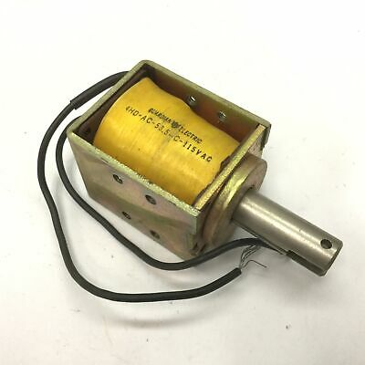 Guardian Electric 4HD-AC-53.5-C-115VAC Solenoid, Voltage: 115VAC, Shaft: 0.5""