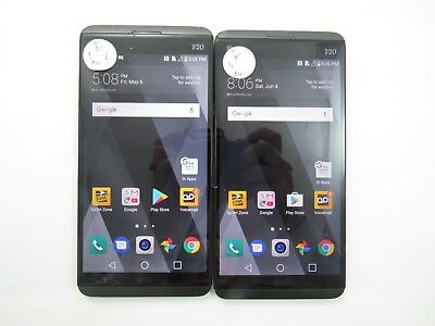 Lot of 2 Cracked LG V20 LS997 Sprint Check IMEI CR 3-810