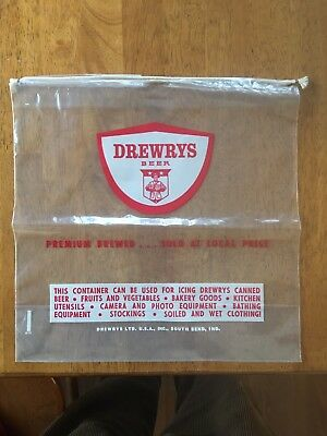 Rare Drewrys Beer Collectible Cooler