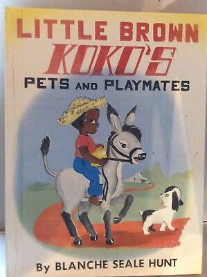 LITTLE BROWN KOKO PETS and PLAYMATES 1959, HARDCOVER