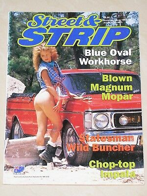 STREET & STRIP Magazine Issue 40 - Ford Holden Hot Rod Drag Racing Pin Up Girls