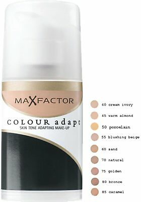 Max Factor Colour Adapt Foundation 34ml - Choose Your Shade