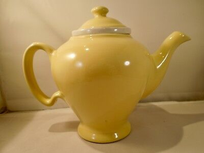 McCORMICK, BALTIMORE, TEAPOT WITH INFUSER, YELLOW