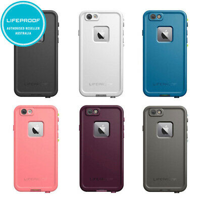 Lifeproof Fre Tough Drop Waterproof Shockproof Case Cover for Apple iPhone 6 6s