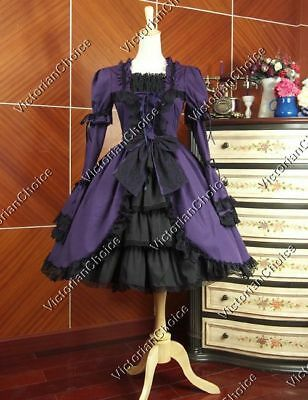Victorian Choice Gothic Lolita Dress Theater Cosplay Steampunk Clothing 233 XL