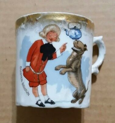 Buster Brown & Tige,Advertising Cup,1900's