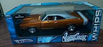Mattel Hot Wheels West Coast Customs Whips 118 Scale 1969 Dodge