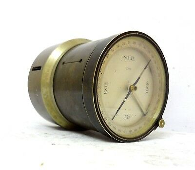 Very Rare Antique Big Size Brass Pantometer Surveyor Cross Instrument Compass