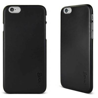 Gecko Black Protect Ultra Slim Case Cover Scratch Protection for iPhone 6 6s