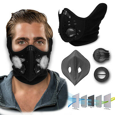 Anti Dust Air Purifying Half Face Mask with Filter Motorcycle Cycling Bicycle