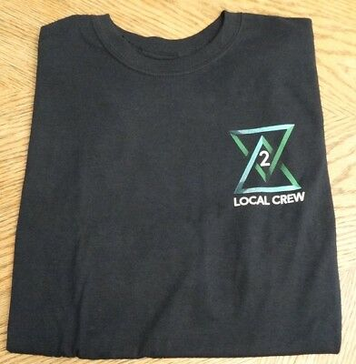 Tim McGraw & Faith Hill Local Crew T-Shirt from 2018 Concert
