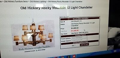 Old Hickory Chandelier