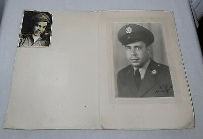 Vintage African American Military Photo