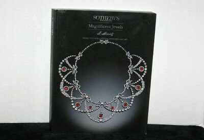 1995 Sotheby's Magnificent Jewels Jewelry  Auction Catalog   St. Moritz